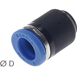 Insteek kap 4mm voor insteekkoppelingen