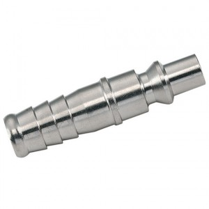 Insteeknippel Orion (DN5,5) 13 mm slang, Gehard vernikkeld staal