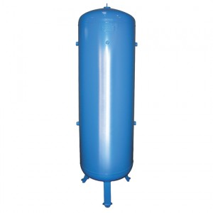 Persluchtketel 270 liter, 11 bar, Blauw (RAL 5015) gelakt staal