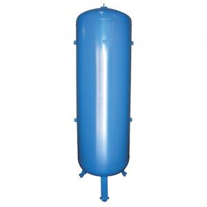 Persluchtketel 3000 liter, 12 bar, Blauw (RAL 5015) gelakt staal