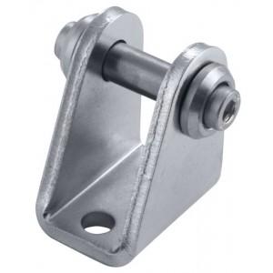Achterscharnier M12 x 1,25 voor mini cilinder Ø 8 en 10
