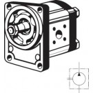 Bosch-tandwielpomp 4,0 ccm, Bosch-flens, rechtsdraaiend