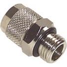 Rechte inschroef opsteekkoppeling 6/4 x M12x1