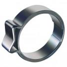 1-oorklem 12.5-14.5 mm,  RVS (W4)