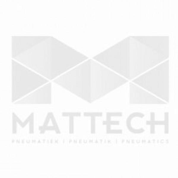 Drukschakelaars Flensaansluiting, 0,5 tot 8 bar, wisselcontact, M12 stekker IP67, aluminium
