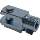 Zuigerstang gaffel M4 voor mini cilinder Ø 8 en 10