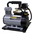 24V Compressor 95 l/min, 8 bar, 2 liter ketel, olievrij
