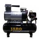 24V Compressor 95 l/min, 8 bar, 6 liter ketel, olievrij