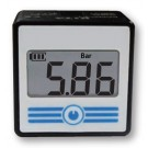 "Digitale manometer 0 tot 10 bar R1/8"" (M5) achteraansluiting"