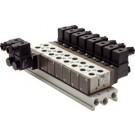 Basisplaat (10-voudig) voor SF4000 (5/2 en 5/3-weg)
