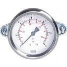 """Manometer paneelmontage Ø40, -1 tot 0 bar, G1/8"""""""
