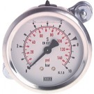 "Glycerine manometer paneelmontage Ø63, 0 tot 40 bar, G1/4"""