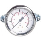 """Manometer paneelmontage Ø50, 0 tot 40 bar, G1/4"""""""