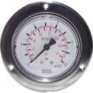 """Manometer paneelmontage Ø50, -1 tot 0 bar, G1/4"""""""