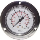 """Manometer paneelmontage Ø50, 0 tot 16 bar, G1/4"""""""