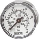 "Manometer achteraansluiting Ø26, 0 tot 1 Mpa, R1/16"""