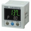 Monitor voor flowmeters PF3W met 2x PNP output