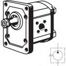 Bosch-tandwielpomp 4,0 ccm, Plessey-flens, rechtsdraaiend